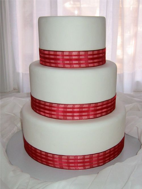 simple red and white wedding cakes. Back to Wedding Cakes